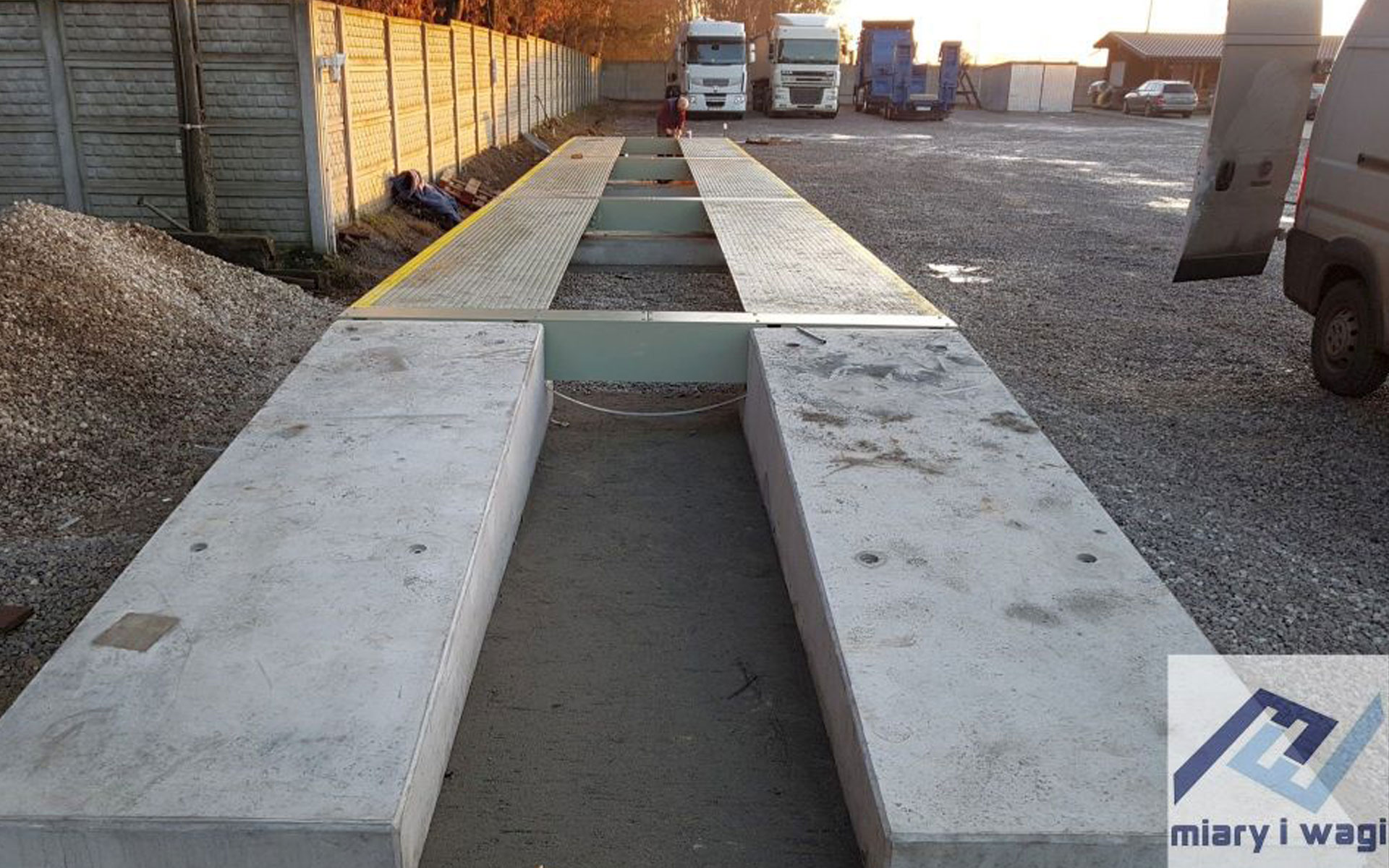 recessed truck scales